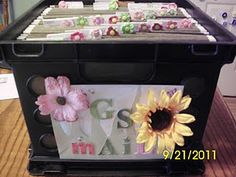 mail box for GS....they check their folder before leaving to bring home papers, and to leave things for leader too.  Something to do when the girls get older, are dropped off & parents don't attend anymore.