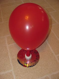 CD   hover craft... I actually have done this experiment before on a 5th grade class and it is very cool it is great for learning force... for your above level you can discuss friction. So Awesome