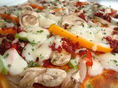 PIZZA South Beach Dieta BAJA EN CARBOHIDRATOS GLUTEN FREE ENTERA $155 Pedidos en el Tel.- 216 44 99