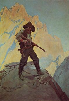 "NC Wyeth, ""The Last Stand"""