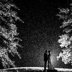 Beautiful rainy wedding day photo www.finditforweddings.com