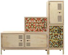 Mingo Lamberti's Raw locker designs