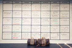 Plan ahead! Rachel Zoe offices { Large Calendar }
