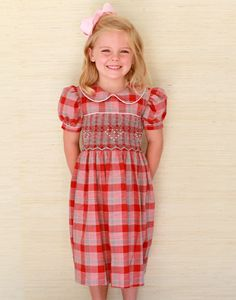 party dress with heart smocking 50% off