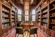 Luxury Real Estate in Palm Beach Gardens - home Office / Library