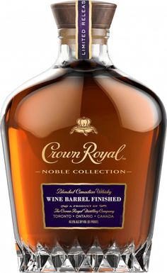 9b1c8884cfb Crown Royal Wine Barrel Finished Whisky - Crown Royal Fun Drinks Alcohol