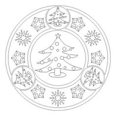 christmas tree mandala coloring page (4)