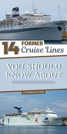 Former cruise lines you should know about, take a look back into history of cruises. Top Cruise, Best Cruise, Cruise Port, Cruise Travel, Cruise Vacation, Hawaii Travel, Asia Travel, Vacations, Cruise Excursions