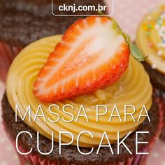 Cupcakes, Chocolate, Food Videos, Cantaloupe, Watermelon, Food And Drink, Cooking Recipes, Fruit, Drinks