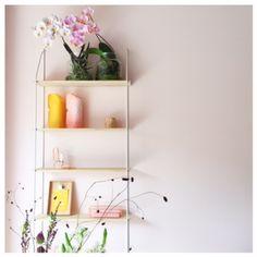 Orchideeën in een vaas zonder potgrond, heel stylish! #root16