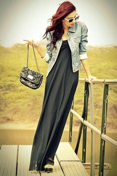 Denim and Maxi Dress  /  anupreet-sidhu.jpg