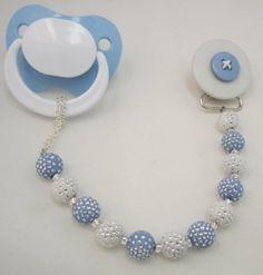 Blue Button Dummy Holder