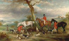 John Ferneley - Thomas Wilkinson, M.F.H., with the Hurworth Foxhounds - Google Art Project.jpg