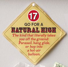 #17: Go for a natural high