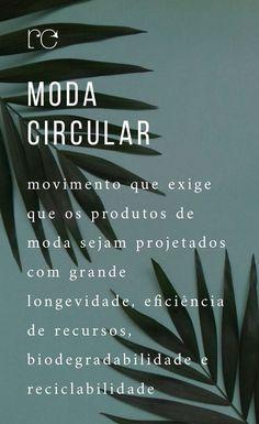 termos da moda sustentável - moda circular