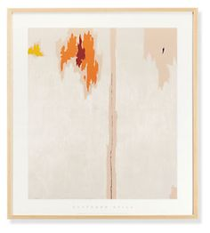 Clyfford Still, Framed Print, Untitled, 1953 #roomandboard