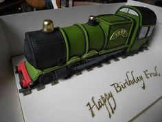 Train cake by fred pipes, via Flickr