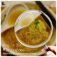 #FD1508 #ChineseFood #Noodle  在这家叫香港云吞面的面店吃上一碗云吞面,一般般。