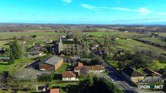 Aerial drone Photo from France by Pachanc : 32110 Magnan, France Aerial Drone, France, French