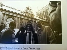 Jackie Onassis in front of Grand Central Property Rights, Louvre, Travel, Viajes, Destinations, Traveling, Trips