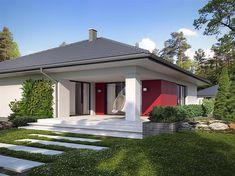 Zdjęcie projektu Asan BSE1102 Beautiful House Plans, Beautiful Homes, Three Bedroom House Plan, Asana, Gazebo, House Design, Design Homes, Shed, Outdoor Structures