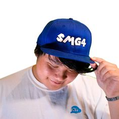 80bb43367ffab SMG4 Signature Snapback Hat Royal New Era Hats