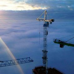High-quality tower crane and construction hoist from china.