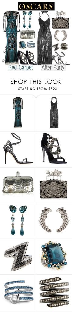 """""""Oscar Fashion"""" by adswil ❤ liked on Polyvore featuring Zuhair Murad, Nina Ricci, Sergio Rossi, Roberto Cavalli, Christian Louboutin, Alexander McQueen, Yves Saint Laurent, AS29, Konstantino and Gucci"""