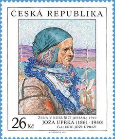 Works of Art on Postage Stamps: Joza Uprka (1961-1940)