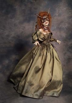 Model of a dancer from the Labyrinth Ballroom Scene: AFA NYC | Wendy Froud