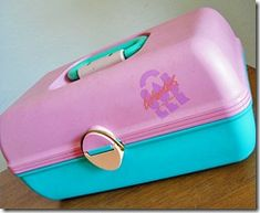 Caboodle! Mine was hot pink and purple!