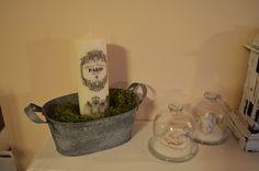 candle - my shabby white home: Sviečka