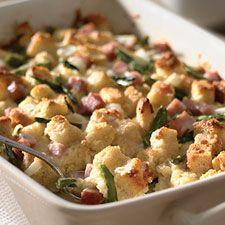 Gluten Free Zucchini and Sausage Strata: King Arthur Flour
