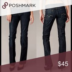 7 for all mankind bootcut jeans A classic bootcut Jean is a closet staple so make sure your wardrobe is up to par! Good amount of stretch so you can be comfortable all day. Size 27 which is a 4. 98% cotton 2% spandex. ❌NO TRADES❌ inseam 33.5in 7 For All Mankind Jeans Boot Cut