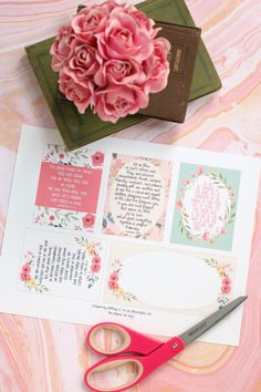 PitterAndGlink: Free Printable Scripture Verse Journaling Cards - DIY and crafts Faith Scripture, Scripture Cards, Prayer Cards, Printable Scripture, Fun Crafts, Diy And Crafts, Paper Crafts, Printable Cards, Free Printables