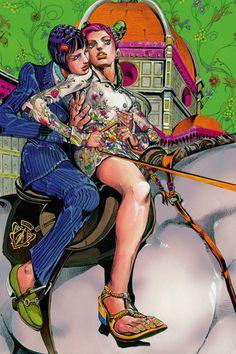 Hirohiko Araki's Manga for Gucci: Beginning this month, shoppers will be treated to an innovative display of Creative Director Frida History Of Illustration, Jojos Bizarre Adventure Jotaro, Manga Artist, Jojo Bizzare Adventure, Illustrations And Posters, Free Prints, Jojo Bizarre, Aesthetic Art, Alter