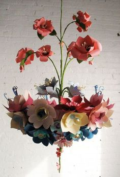 10 Paper Flowers Pins to check out