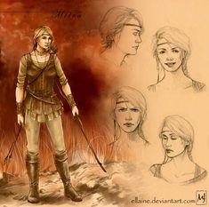 Geralt's team - Milva by ellaine on DeviantArt | inspired by Andrzej Sapkowski, The Witcher
