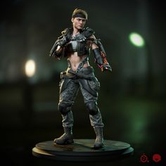 ArtStation - Sonya Blade Fight Stance - Viewer, Henrique Naspolini
