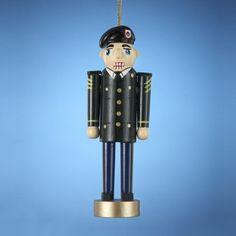 "5"" U.S. Army Dress Uniform Nutcracker Soldier Christmas Figure Ornament $12.99 (24% OFF)"