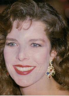 Princess Caroline of Monaco.Rose Ball,1988.
