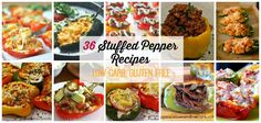 36 Low Carb and Gluten Free Stuffed Pepper Recipes   Peace Love and Low Carb