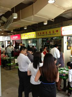Market Street (Golden Shoe) Food Centre in Singapore