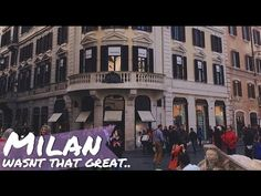 Your cup of coffee and this video on my channel. Let's go! TRAVEL DIARY: Shopping in Milan, Italy! | misscamco https://youtube.com/watch?v=mwggWT-6fy4