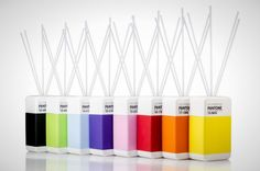 Pantone Reed Diffusers: An Ode to Pantone: 40 Awesome Pantone Products   Brit + Co.