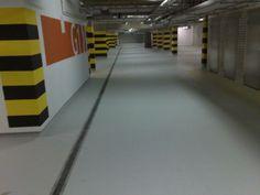Garaż podziemny TIVOLI PARK (posadzka wykonana przez firmę http://multi-floor.pl).