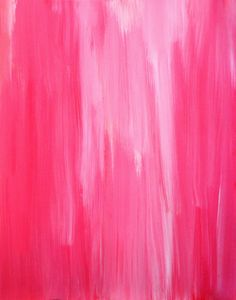 Acrylic Abstract Art Painting Pink  Modern by T30Gallery on Etsy