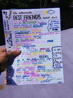 BFF Goals - Food Meme - This would be cute if you mailed this to your friend on their birthday showed up at their house and told them you were gonna do all that stuff together! The post BFF Goals appeared first on Gag Dad. Friend Birthday Gifts, Sister Birthday, Best Friend Gifts, Gifts For Friends, Best Friends, Funny Birthday, Happy Birthday, Birthday Quotes, Diy Birthday