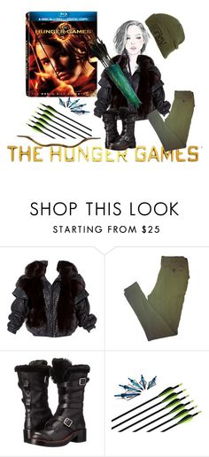 """""""Hunger Games Style"""" by stormi3 ❤ liked on Polyvore featuring Patrizia Pepe, Coach, Hurley, Hungergames and contestentry"""