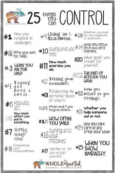 List 1 of Included in my *Top 50 THINGS I CAN CONTROL Fortune Tellers: School Counseling Lesson & Game* Recognizing what is in our control helps young (a Social Emotional Learning, Life Skills, Social Skills Lessons, Social Skills For Kids, Teaching Social Skills, Classroom Management, Autism Behavior Management, Self Improvement, Self Help